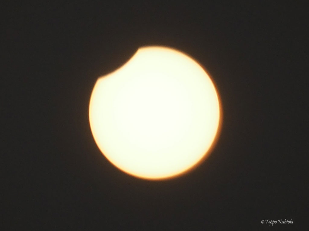 Solar eclipse on the 11.8.2018